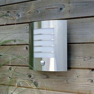 Saldivar 1 Light Outdoor Flush Mount With Motion Sensor By Sol 72 Outdoor