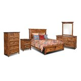 Bridgeman Standard 5 Piece Bedroom Set by Loon Peak
