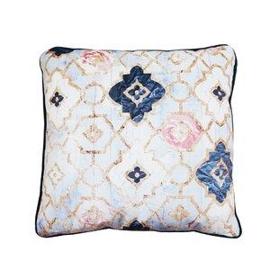 Tufnell Rose Quartz Moroccan Velvet Throw Pillow