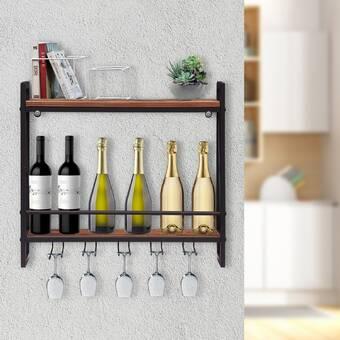 Red Barrel Studio Karnes Scalloped 48 Bottle Tabletop Wine Bottle Rack Wayfair