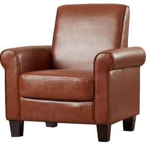 Three Posts Ravenwood Faux Leather Armchair Image