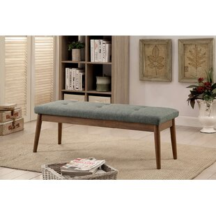 Gracie Oaks Bache Upholstered Dining Bench
