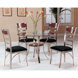 Deitz 5 Piece Dining Set by Latitude Run