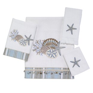 By the Sea 4 Piece 100% Cotton Towel Set