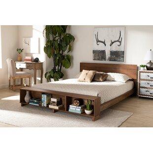 Hickman Low Profile Storage Platform Bed