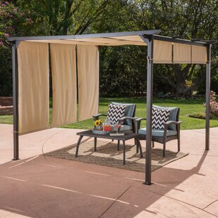Freeport Park Jacob 10 Ft. W x 10 Ft. D Steel Patio Gazebo
