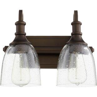 Savings Falbo 2-Light Vanity Light By Charlton Home