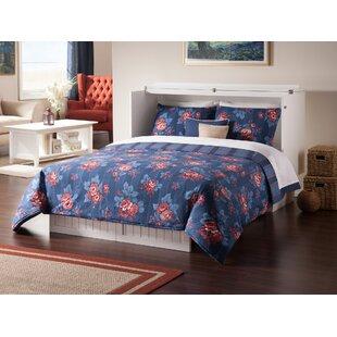 Graham Queen Murphy Storage Platform Bed with Mattress By Beachcrest Home
