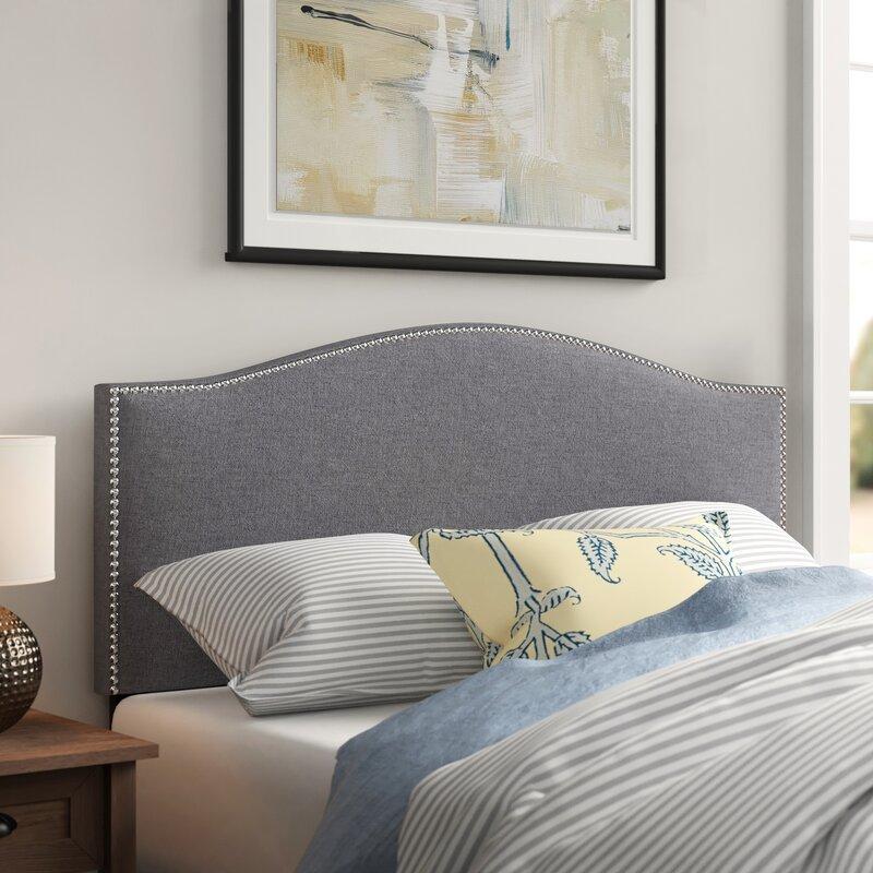 Three Posts Herlinda Queen Upholstered Panel Headboard Reviews Wayfair