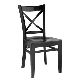 Charlton Home Slough Solid Wood Dining Chair (Set of 2)