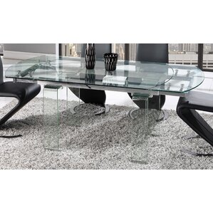 Wilcox Extendable Dining Table by Wade Logan