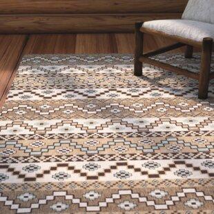 Rangely Brown/Ivory Indoor/Outdoor Area Rug
