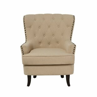 Abbate Wingback Chair by Canora Grey New