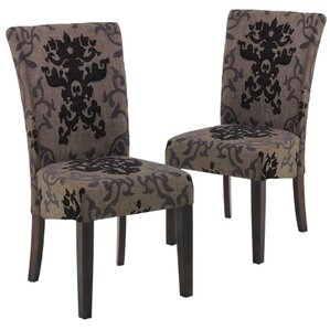 Urbanity Montecito Parsons Chair (Set of 2) by Armen Living