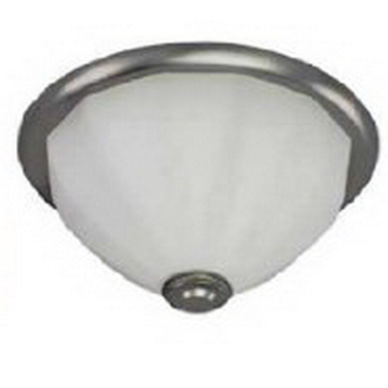 Charlton Home Engleman 1 Light 17 Simple Bowl Flush Mount Wayfair