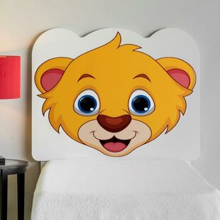 Compare & Buy Rosetta Lion Cub Face Twin Panel Headboard by Zoomie Kids Reviews (2019) & Buyer's Guide