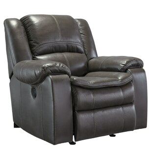 Long Knight Push Button Rocker Recliner Signature Design by Ashley
