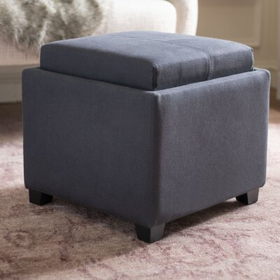 Marvelous Dogwood Storage Ottoman Alcott Hill Upholstery Dark Grey Pabps2019 Chair Design Images Pabps2019Com