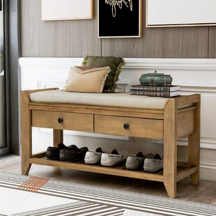 Saving More Union Rustic Sikes Wood Bench