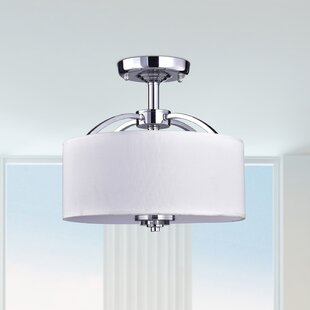Wester 3-Light Semi Flush Mount by Latitude Run