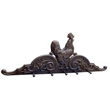 Rooster Coat Rack by Hickory Manor House