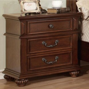 Compton 3 Drawer Nightstand by Fleur De Lis Living