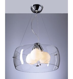 Orren Ellis Mendoza 3-Light Pendant