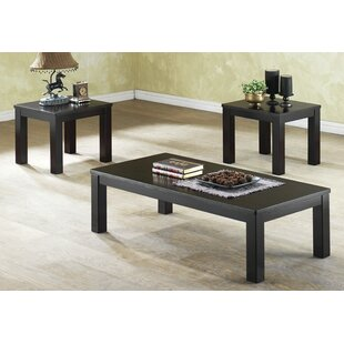 Mendoza 3 Piece Coffee Table Set by Winston Porter No Copoun