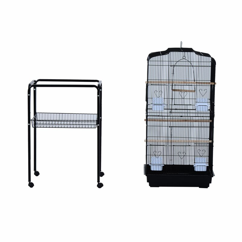 """2 pcs plastic Rollers for the big bird cage the plastic wheels to bird cage 2/"""""""