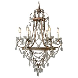 Astoria Grand Equipoise 6-Light Candle St..