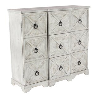 Tyndall Traditional 3 Door Accent Cabinet by Rosecliff Heights