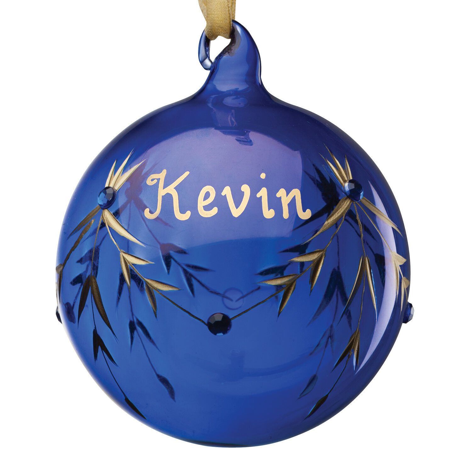 The Holiday Aisle September Birthstone Personalized Ball Ornament Reviews Wayfair