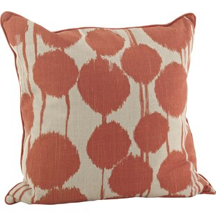 Villanueva 100% Cotton Throw Pillow