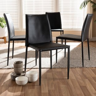Buying Leistner Upholstered Dining Chair (Set of 4) (Set of 4) by Orren Ellis Reviews (2019) & Buyer's Guide
