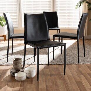 Best Deals Leistner Upholstered Dining Chair (Set of 4) by Orren Ellis Reviews (2019) & Buyer's Guide