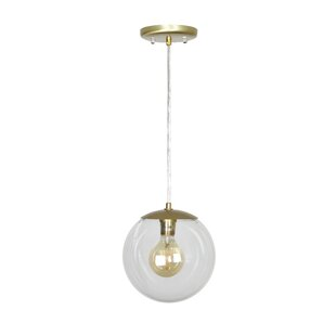Leeman 1-Light Pendant by Orren Ellis