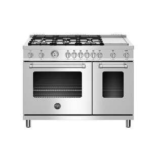 Master Series 48 Free-standing Gas Range with Griddle by Bertazzoni