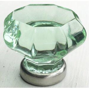 Octagon Glass Door Knob