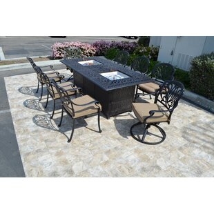 Darby Home Co Kristy 9 Piece Dining Set