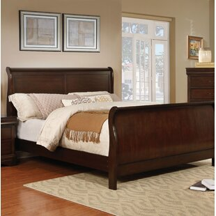 Charlton Home Fredette Sleigh Bed