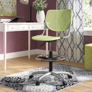 Eiland Poly Adjustable Mid-Back Drafting Chair by Latitude Run Reviews