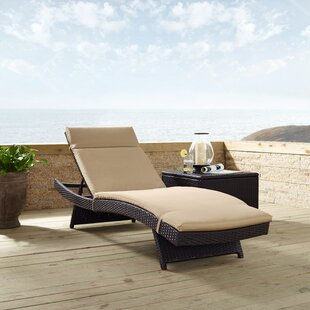 Dinah Reclining Chaise Lounge with Cushion