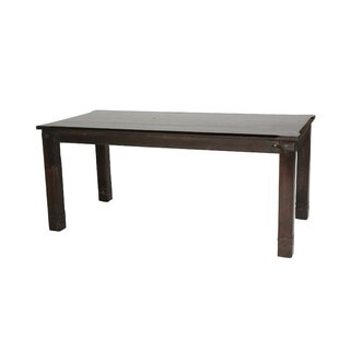 Cullens Solid Wood Dining Table by Fleur De Lis Living