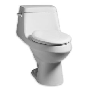 American Standard Fairfield 1.28 GPF Elongated One-Piece Toilet
