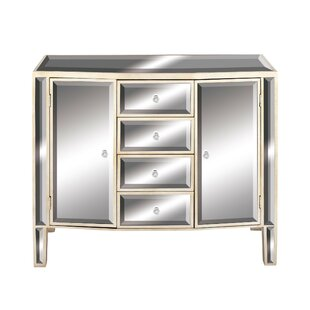 Accent Mirrored Cabinets Chests You Ll Love Wayfair