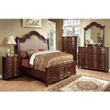 Bentlee Queen Upholstered Sleigh 4 Piece Bedroom Set (Set of 4) by Astoria Grand