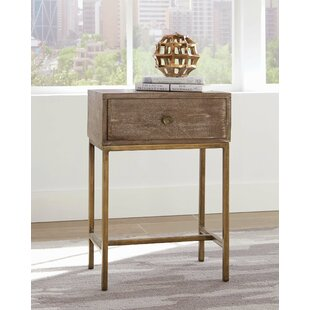 Sergei End Table by Union Rust..