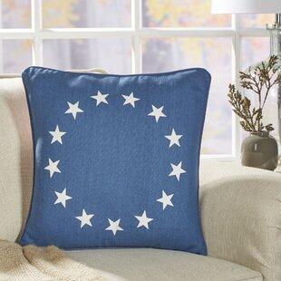 Trosper Patriotic Pillow Cover
