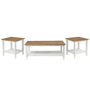 Funkhouser 3 Piece Coffee Table Set