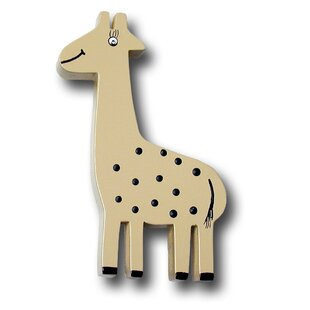 Handpainted Giraffe Novelty Knob